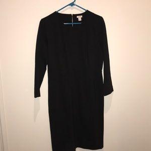 Dark Grey J Crew Dress